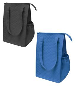 """14"""" Thermo Insulated Tote Bag Lunch Containers Bag Shopping"""