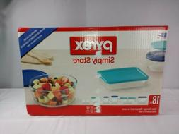 Pyrex 18 Piece Simply Store Food Storage Containers Bowls Wi