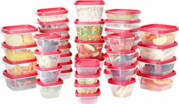 Plastic Food Storage Containers 80 Piece Set 40 Container 40