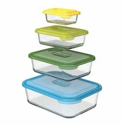 Joseph Joseph 81064 Nest Glass Food Storage Container and Ba