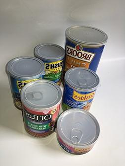 ALAZCO 12pc BPA-Free Can Covers - 2 Large 2 Medium 8 Small P