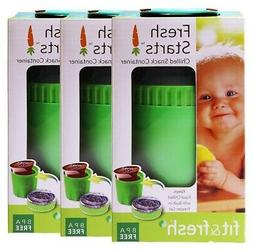 Fit & Fresh Chilled Yogurt and Snack Container, Reusable, BP