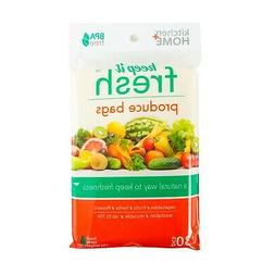 Keep it Fresh Re-Usable Freshness Produce Bags - Set of 30 G