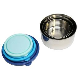 MIRA Set of 3 Stainless Steel lunch box, food storage contai