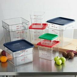 All Size 2 - 22 Qt. Square Food Storage Containers Lid, Camb