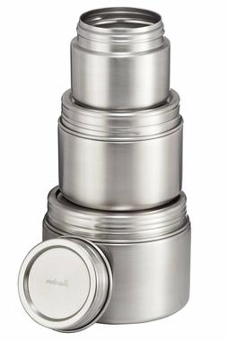 Bruntmor, 18/8 Stainless Steel Airtight Round Food Container