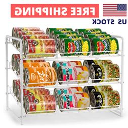 Can Food Organizer Storage 36 Cans Holder Kitchen Cabinet Pa