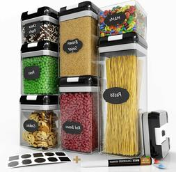 Chef's Path Airtight Food Storage Container Set - 7 PC Set -