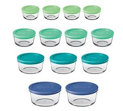 classic glass food storage containers