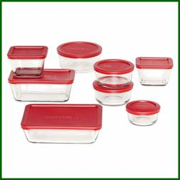 Anchor Hocking Classic Glass Food Storage Containers W Lids