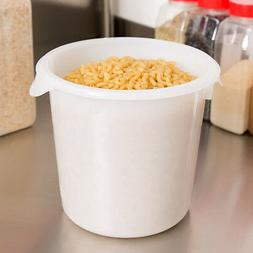 RUBBERMAID COMMERCIAL 4 QT ROUND FOOD STORAGE CONTAINER 5721