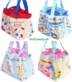 Sanrio Drawstring Tote Bag Lunch Box Food Container Case Pur