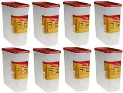 Rubbermaid Dry Food Storage 21 Cup Clear Base