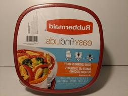 Rubbermaid Easy Find Lids - 2 Containers - One 9 Cup, One 14