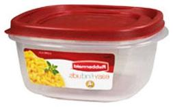 Rubbermaid 071691405320 Food, 6-Pack, Red