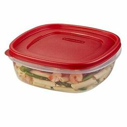 Rubbermaid Easy Find Lids Food Storage Container, 9 Cup, Rac