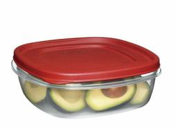 Rubbermaid 7J71 Easy Find Lid Square 9-Cup Food Storage Cont