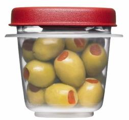 Rubbermaid 781147422084 Easy Find Lids Square 1/2-cup Food S