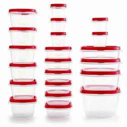 Rubbermaid 2063704 Easy Find Vented Lids Food Storage Contai
