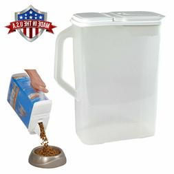 Food Storage Container Large 8 Qt Pour n' Store Keeper and D