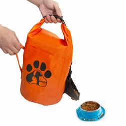 Food Storage Container,Cat&Dog Bags Folding Pet Food Storage