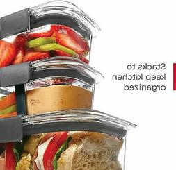 Food Storage Containers Rubbermaid Brilliance 10 Piece No Le