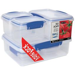 Sistema Fresh Collection Food Storage Containers -- 12 Piece