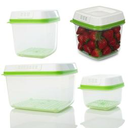 Rubbermaid FreshWorks Produce Saver Food Storage Container V