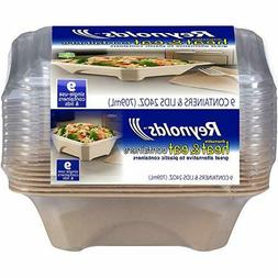 Reynolds G81000 Food Storage Container, 24 Oz, 9 Count