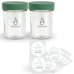 3 Piece Glass Snack Set, Food Storage, Freezer Storage, Snac