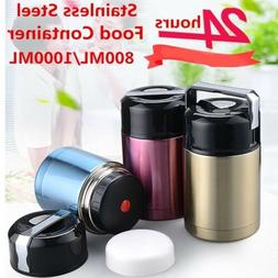 Insulated Food Storage Container Thermos, Food Jar Vacuum So