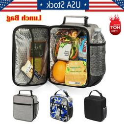 Insulated Lunch Bag Work Picnic Thermos Cooler Adults Tote F