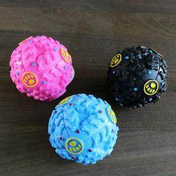 Interactive Dog Squeaky Ball Training Chewing Toy Teeth Care