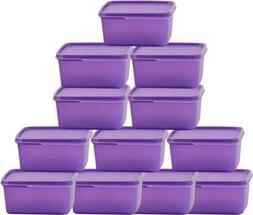 Tupperware Keep Tab Small 12 Containers Lunch Box   for food