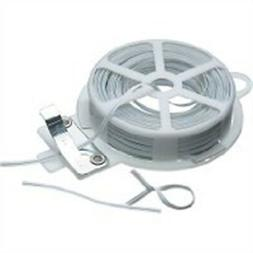 Kitchencraft Plastic-coated Wire Twist Ties With Dispenser A