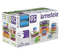 Sistema Klip It Accents Collection Food Storage Meal Prep Co