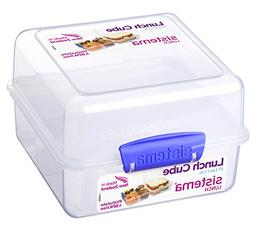 Sistema Klip It Lunch Cube to Go Food Storage Container 47.3