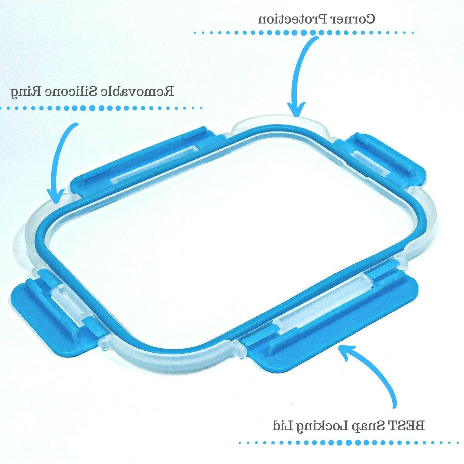 Glass 3 Compartment, Pack, 35 Bento