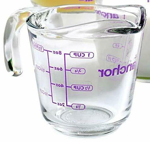 1 cup fire king measuring cup 1