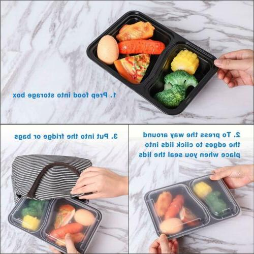 20/40/50X Containers Microwave Storage Lunch