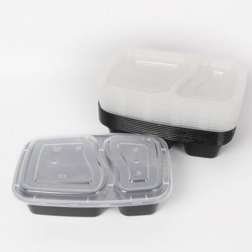 20/40/50X Meal Containers Microwave Freezer Storage Lunch