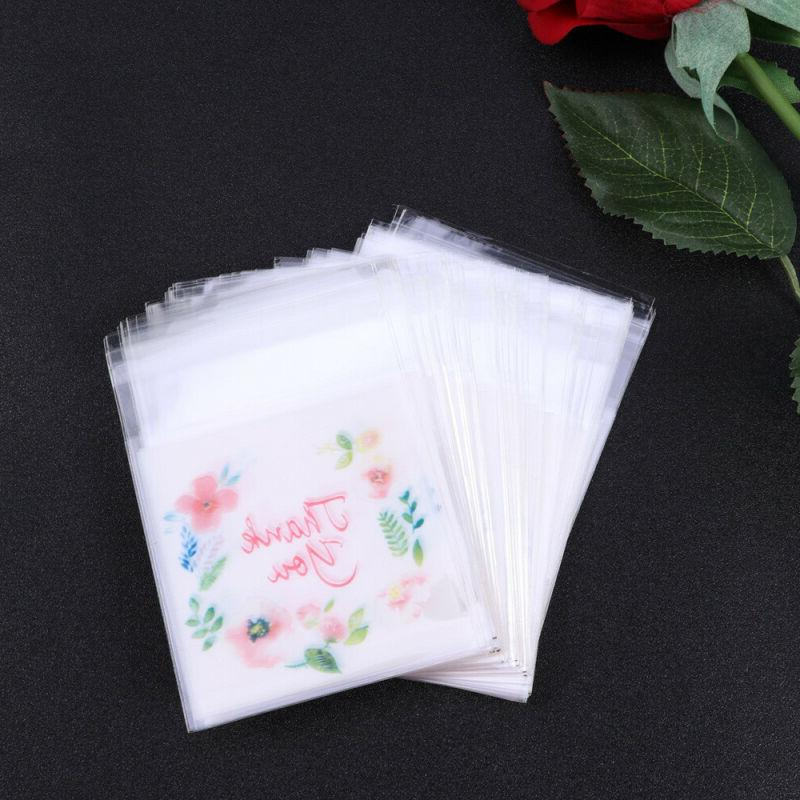 300PCS Disposable Candy Bags Storage Bags Food for