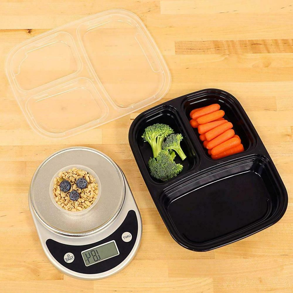 30PACK Food Compartment Reusable