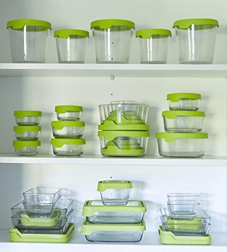 Anchor Food Containers with Airtight Cup