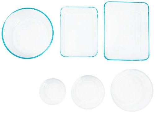 Pyrex Simply Glass Rectangular Round Food Container