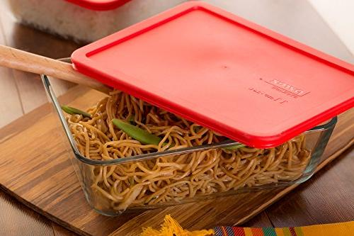 Pyrex Simply Store Rectangular and Round Container