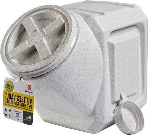 airtight stackable food container vittles vault pet