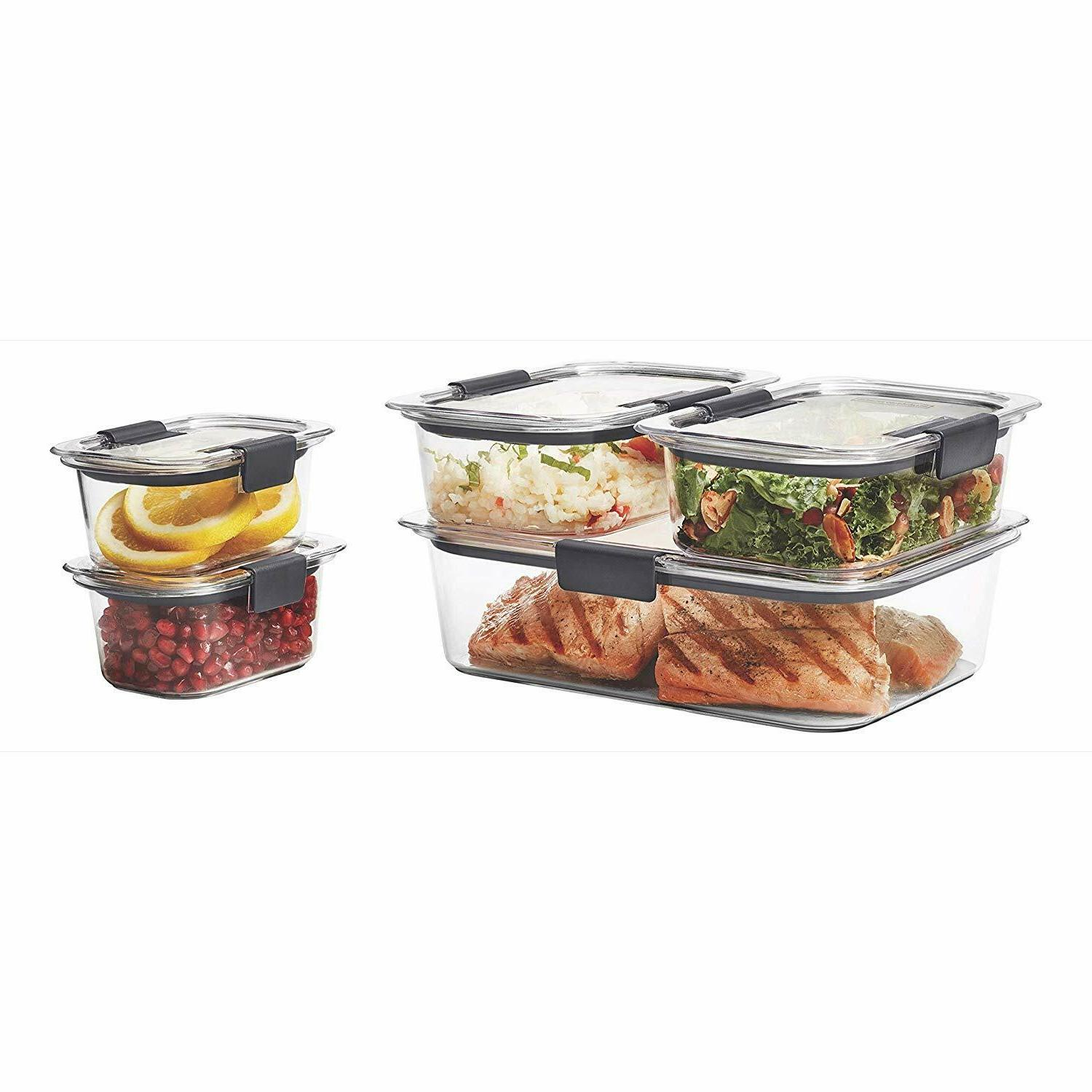 Rubbermaid Containers Airtight Lids BPA Free Of