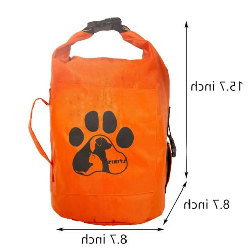 Food Container,Cat&Dog Bags Folding Food Container 10Lbs