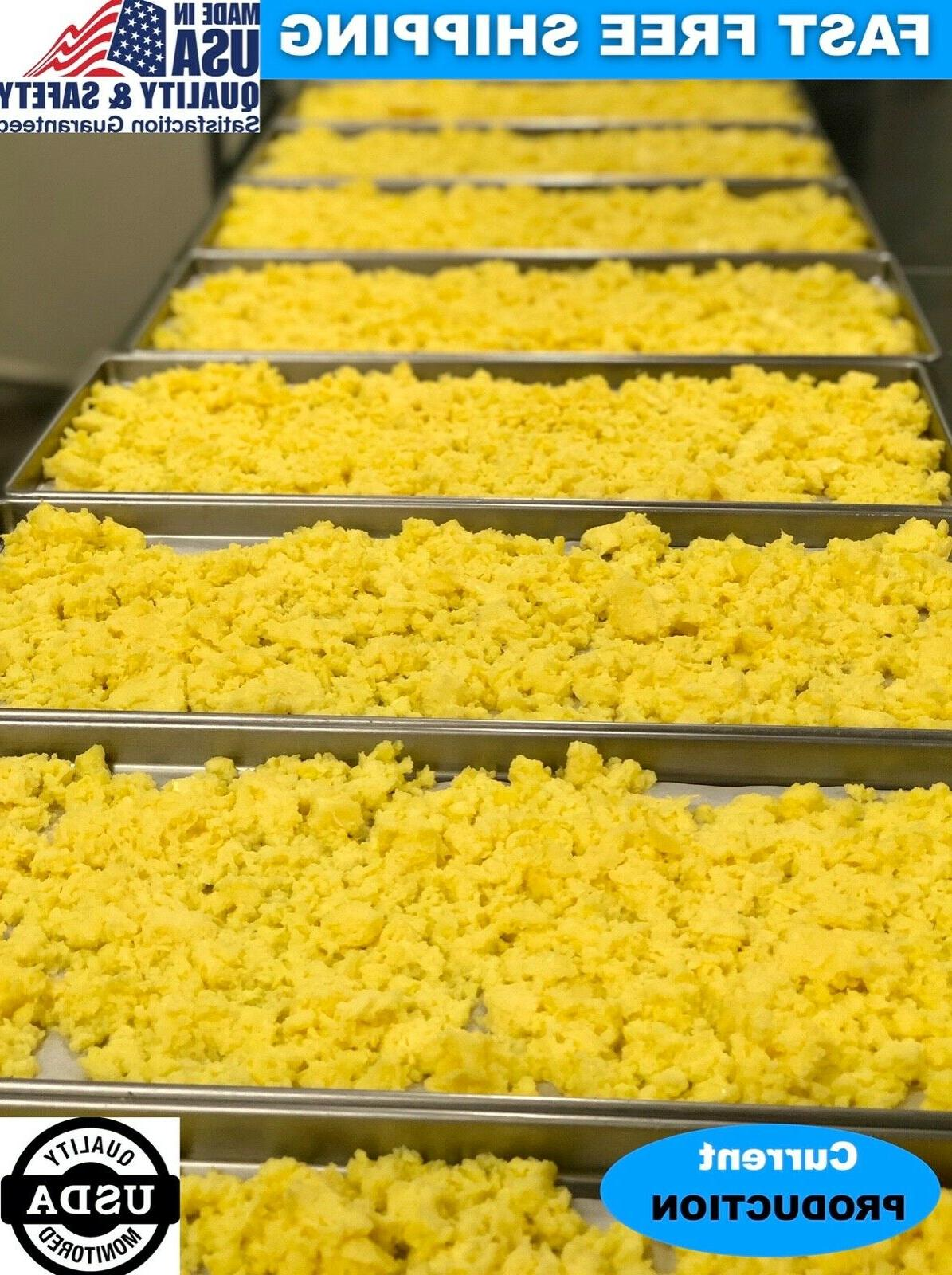 freeze dried fully cooked scrambled eggs camping